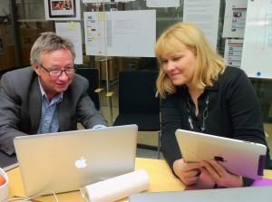 Bo Hedin och Johanna Törn-Mangs